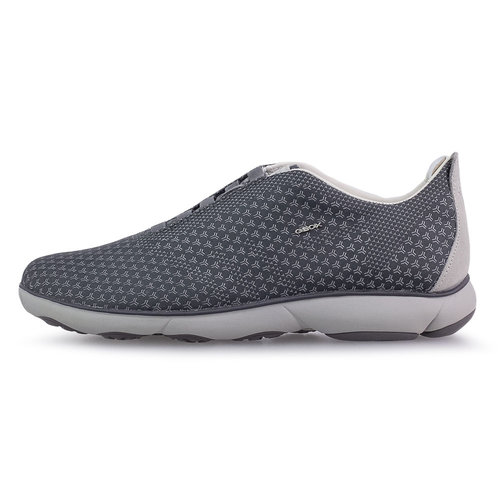 Geox U Nebula E - Sneakers - ANTHRACITE/LT GREY