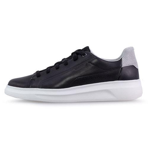 Geox U Maestral - Sneakers - BLACK/LT GREY