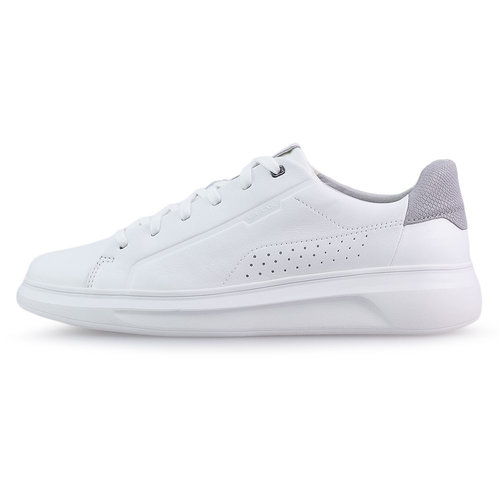 Geox U Maestral - Sneakers - WHITE/LT GREY