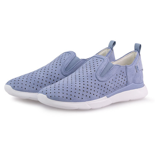 Geox D Hiver A - Sneakers - LT BLUE