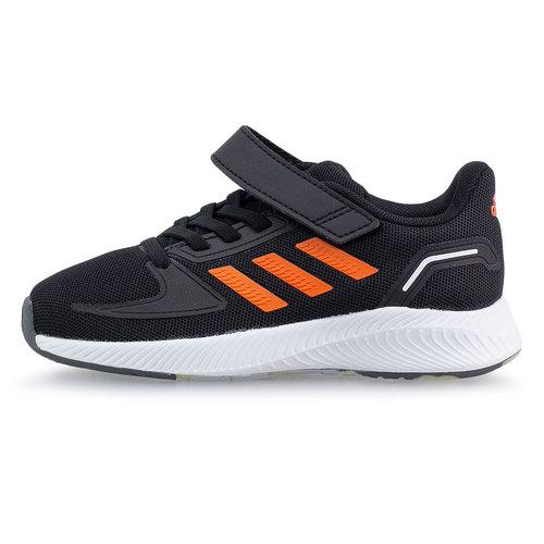 adidas Runfalcon 2.0 C - Αθλητικά - CORE BLACK/TRUE ORANGE