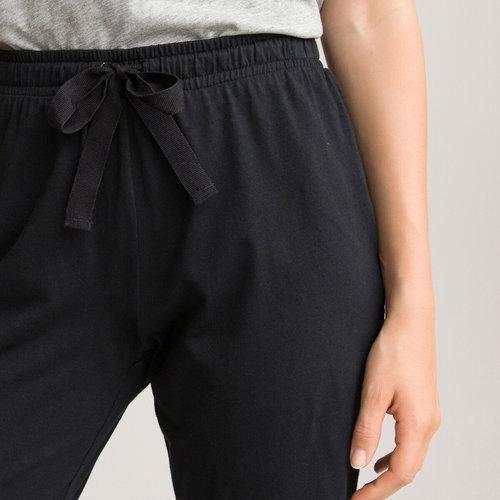 Βαμβακερό παντελόνι πυτζάμα - Σύνολα Ύπνου - ΜΑΥΡΟ