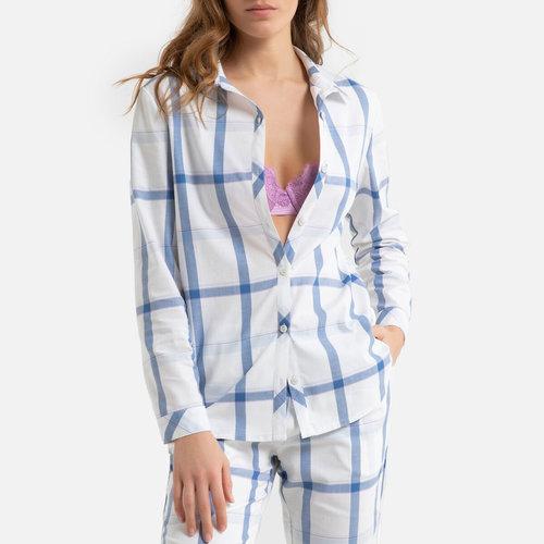 Kαρό πιτζάμα με κουμπιά - Σύνολα Ύπνου - ΜΠΛΕ ΚΑΡΟ
