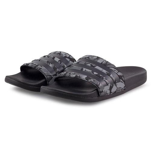 adidas Adilette Comfort - Σαγιονάρες - GREY THREE/CORE BLACK