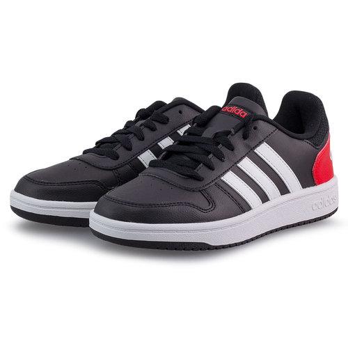 adidas Sport Inspired Hoops 2.0 K - Αθλητικά - CORE BLACK/FTWR WHITE