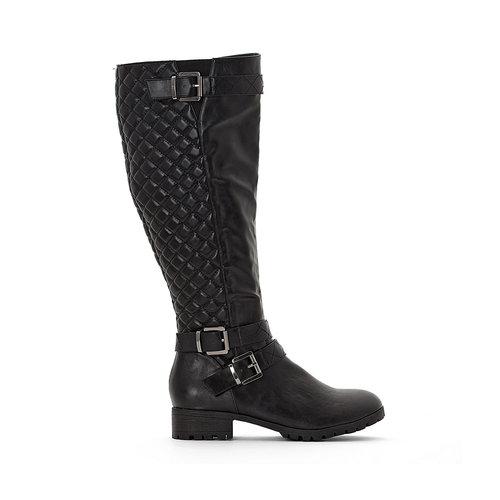 La Redoute Collections Plus - Μπότες - ΜΑΥΡΟ