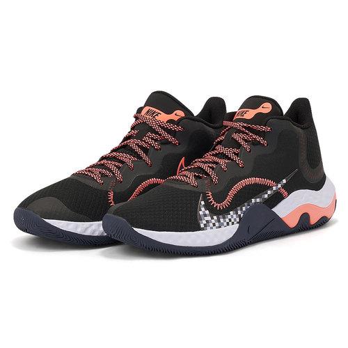Nike Renew Elevate - Αθλητικά - BLACK/BRIGHT MANGO
