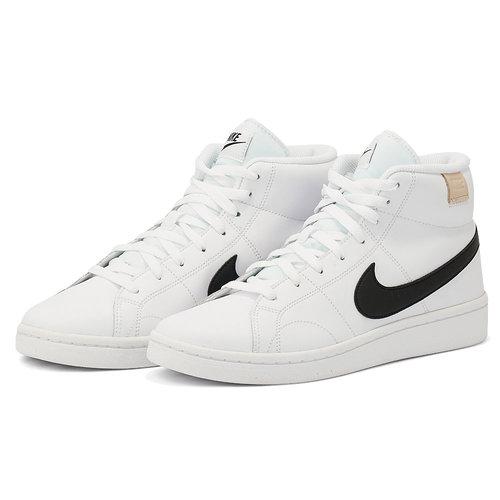 Nike Court Royale 2 Mid - Αθλητικά - WHITE/BLACK