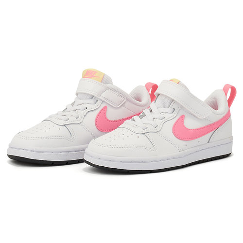 Nike Court Borough Low 2(Psv) - Αθλητικά - WHITE/SUNSET PULSE