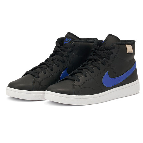Nike Court Royale 2 Mid - Αθλητικά - BLACK/GAME ROYAL