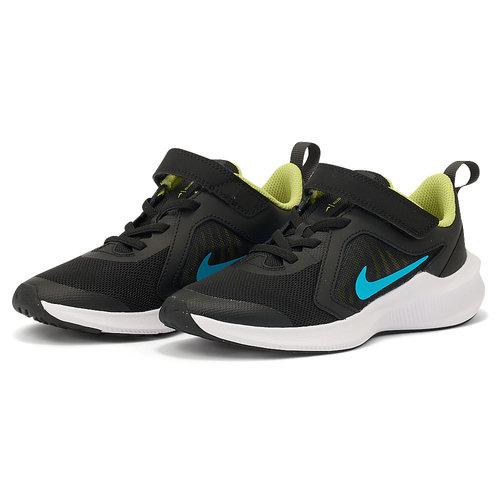 Nike Downshifter 10 (Psv) - Αθλητικά - BLACK/CHLORINE BLUE
