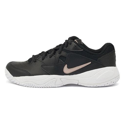 Nike Court Lite 2 - Αθλητικά - BLACK/MTLC RED BRONZE