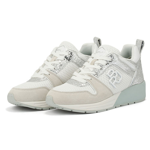 Replay - Sneakers - WHITE/SILVER