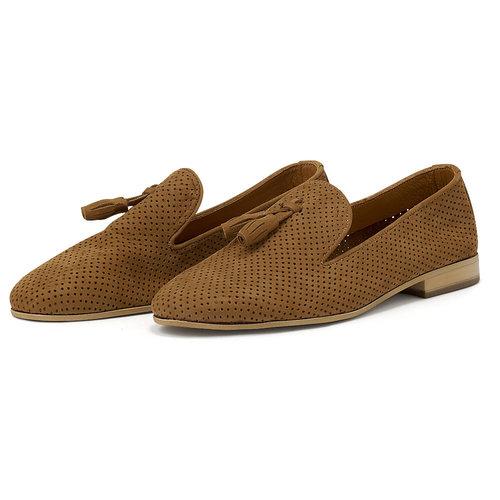 UA1057-L23 - Brogues & Loafers - TABACCO