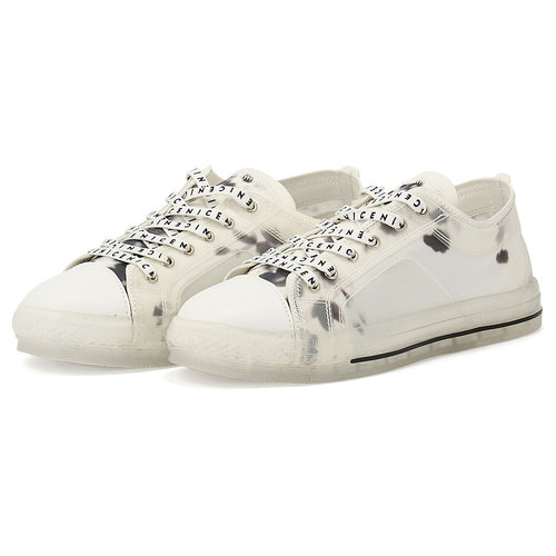 Migato - Sneakers - WHITE/BLACK