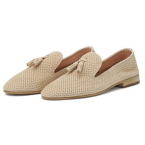 UA1057-L10 - Brogues & Loafers - BEIGE