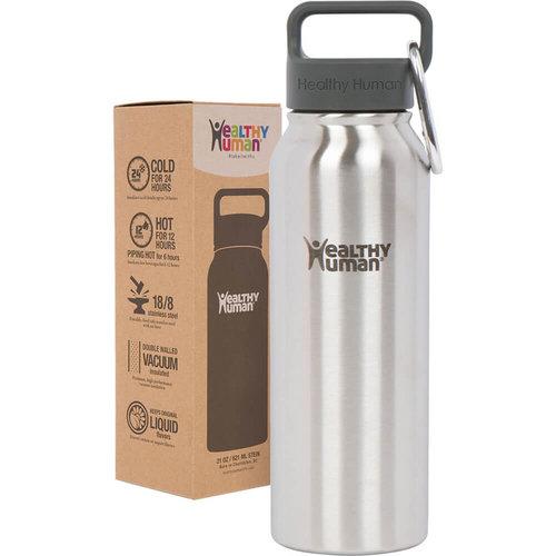 Healthy Human Stein  Bottle - Παγούρια Θερμός - BRUSHED STEEL