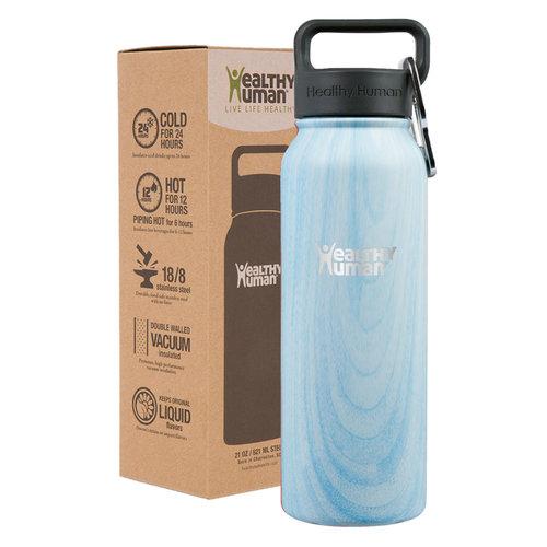 Healthy Human Stein  Bottle - Παγούρια Θερμός - BLUE WOOD