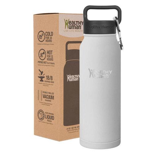 Healthy Human Stein  Bottle - Παγούρια Θερμός - WHITE
