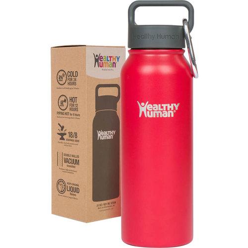 Healthy Human Stein  Bottle - Παγούρια Θερμός - RED HOT