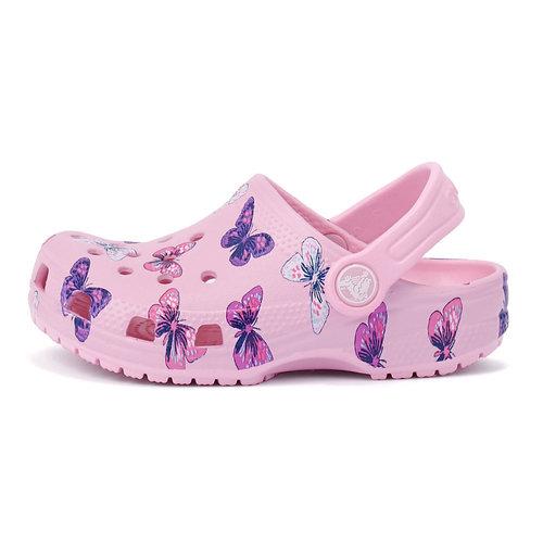 Crocs Classic Butterfly Clog PS - Σαγιονάρες - ΡΟΖ