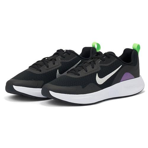 Nike Wearallday - Αθλητικά - BLACK/METALLIC SILVER