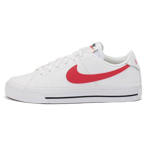 Nike Court Legacy - Sneakers - WHITE/SIREN RED