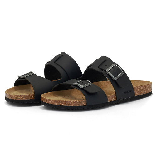 Geox U Sandal G HITA - Σανδάλια - BLACK