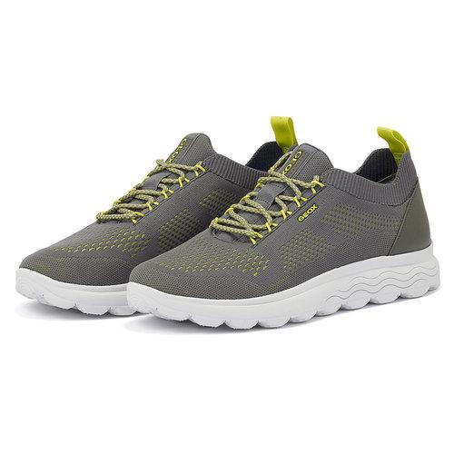 Geox U Spherica - Sneakers - DARK GREY