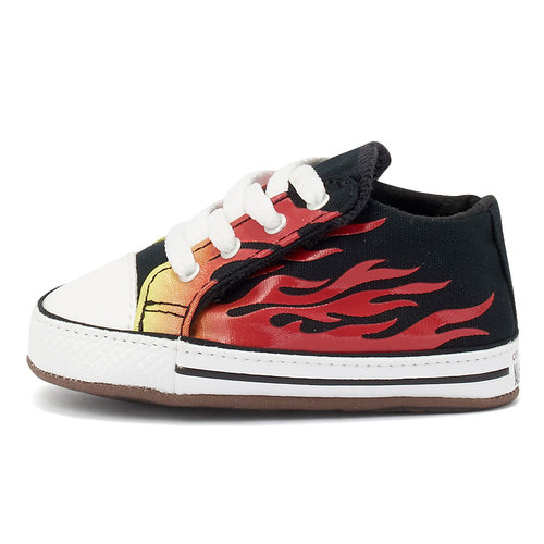Converse Chuck Taylor Cribster - Sneakers - BLACK/FRESH YELLOW