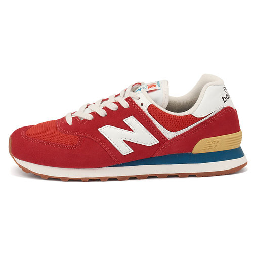 New Balance 574 - Sneakers - TEAMRED