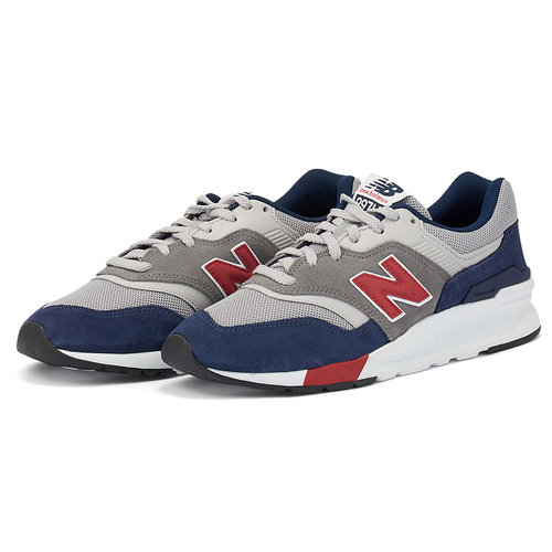 New Balance 997H - Sneakers - RED/NAVY
