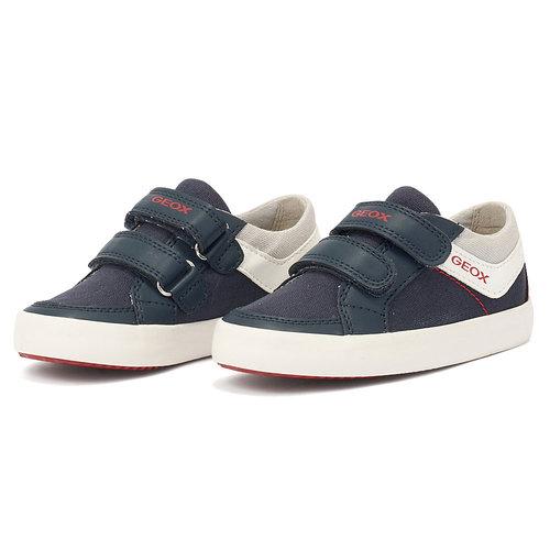 B Gisli B. - Sneakers - NAVY/RED