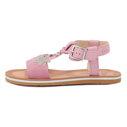 Clarks Finch Summer K L Pink - Πέδιλα - LIGHT PINK