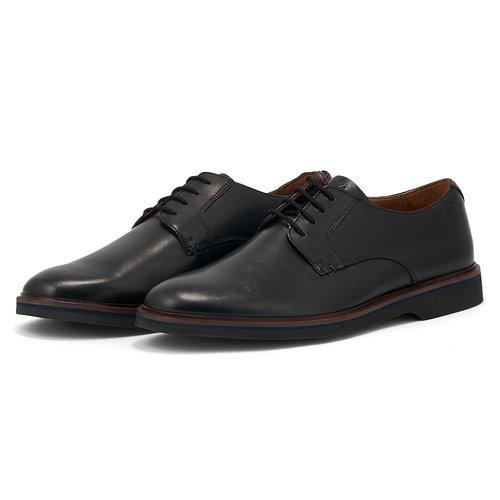 Clarks Malwood Plain Black - Brogues & Loafers - BLACK