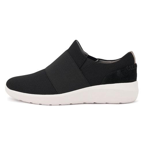 Clarks Kayleigh Band Black - Sneakers - BLACK