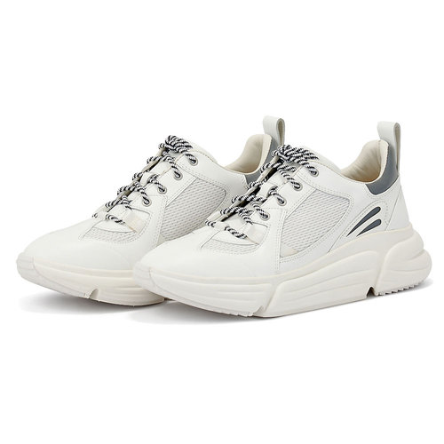 Clarks TriComet Lace White - Sneakers - WHITE