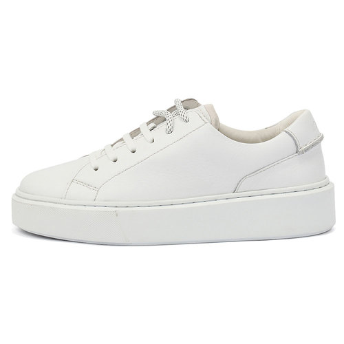 Clarks Hero Lite Lace White - Sneakers - WHITE