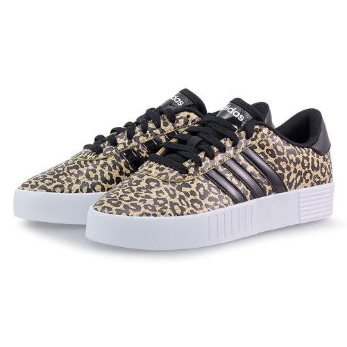 adidas Court Bold - Sneakers - HAZY BEIGE/CORE BLACK