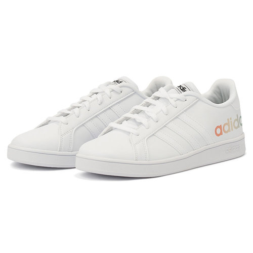 Adidas Grand Court K - Sneakers - WHITE