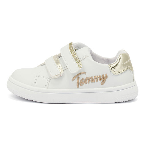 Tommy Hilfiger - Sneakers - WHITE/PLATINUM