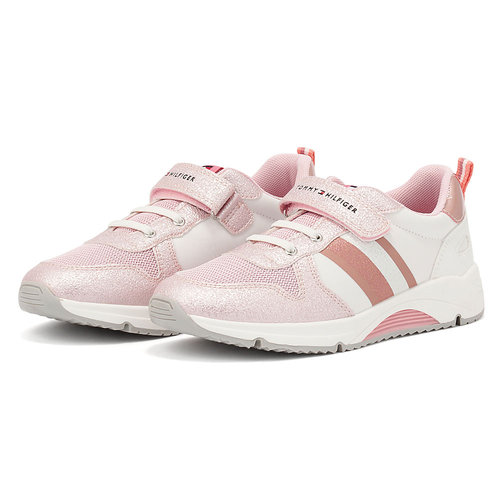 Tommy Hilfiger - Sneakers - PINK/WHITE