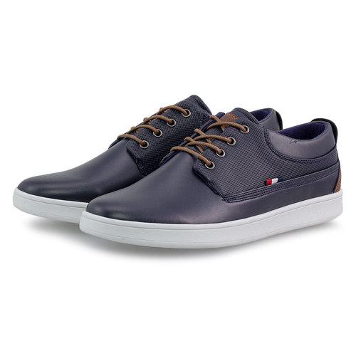 Jk London - Sneakers - ΜΠΛΕ/ΤΑΜΠΑ