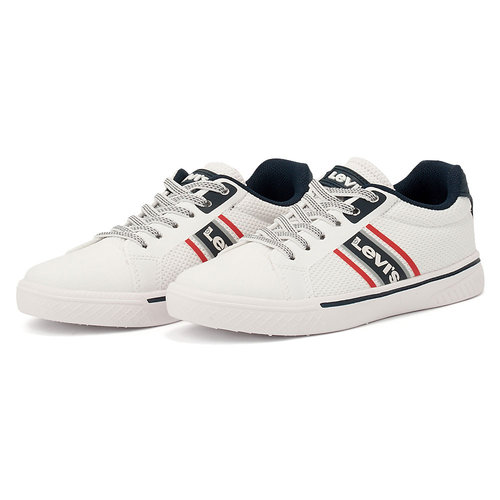 Levis - Sneakers - WHITE/NAVY