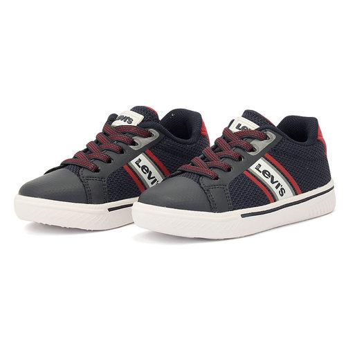Levis - Sneakers - NAVY/RED