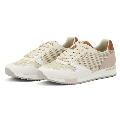Mexx Sneaker Eflin - Sneakers - OFF WHITE/CHESTNUT