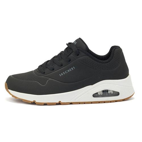 Skechers Uno - Stand On Air - Sneakers - ΜΑΥΡΟ