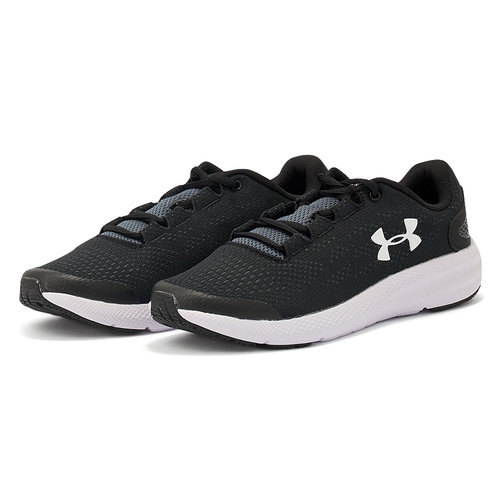 Under Armour Charged Pursuit - Αθλητικά - BLACK/WHITE