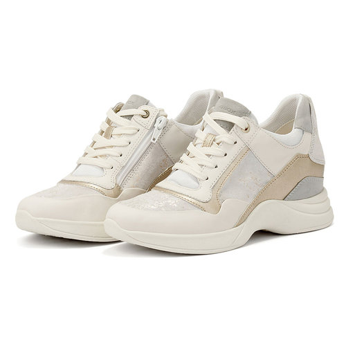 Geox D Armonica - Sneakers - OFF WHITE/ICE