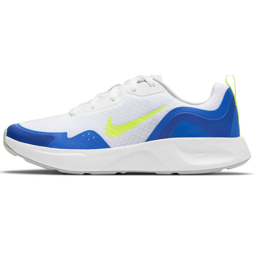 Nike Wearallday (Gs) - Αθλητικά - WHITE/VOLT-GAME ROYAL
